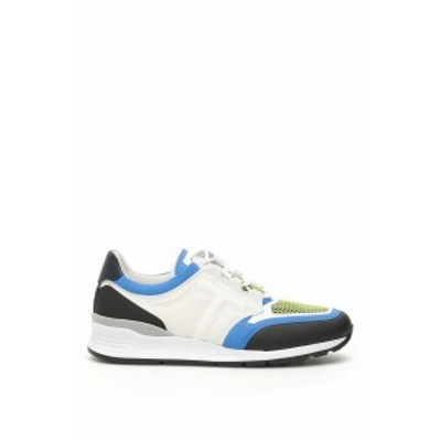 TODS/トッズ スニーカー WHITE BLUE GREEN Tods multicolor sneakers メンズ 春夏2019 XXM69A0AS20KSJ ik