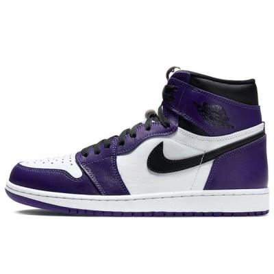 ナイキ エア ジョーダン1 コートパープル 27.5cm Nike Air Jordan 1 Retro High OG(2020) 555088-500 安心の本物鑑定