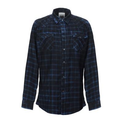 THE.NIM シャツ ブラック S コットン 100% シャツ