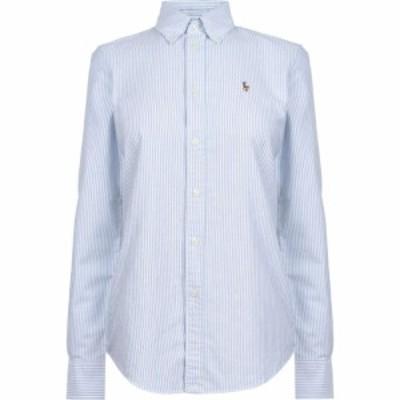 ラルフ ローレン POLO RALPH LAUREN レディース ブラウス・シャツ トップス Kendall Stripe Shirt Blue/White