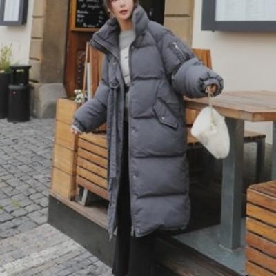 秋冬 売れ筋 人気 コート ジャケット ロング丈 ダウン ジッパー カジュアル 防寒  女子会  デート 通学 hf00237