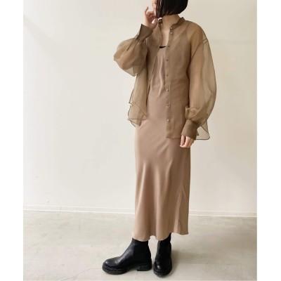 レディース アパルトモン 【MARK KENLY DOMINO TAN /マークケンリードミノタン】Silk Cami Dress ベージュ 36