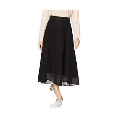 [アドーア] スカート コットンメッシュスカート レディース 531-0120521 (ブラック 36)