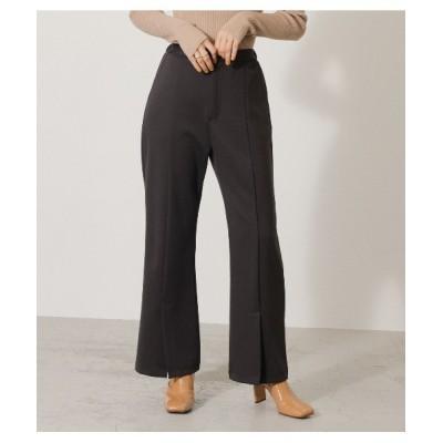 crie conforto / フロントベンツポンチパンツ WOMEN パンツ > スラックス