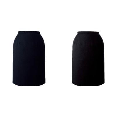 スカート ボトムス ビジネスウェア 事務服 セミタイトスカート FS4566 (5号〜19号) フォーク (FOLK) 取寄