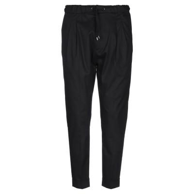 メッサジェリエ MESSAGERIE パンツ ブラック 50 コットン 97% / ポリウレタン 3% パンツ