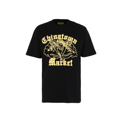 CHINATOWN MARKET T シャツ ブラック M コットン 100% T シャツ