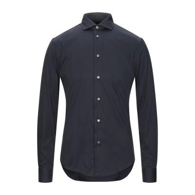 ブライアン デールズ BRIAN DALES シャツ ブラック 38 コットン 80% / ナイロン 15% / ポリウレタン 5% シャツ