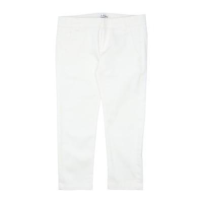 JOHN Q パンツ ホワイト 4 コットン 97% / ポリウレタン 3% パンツ