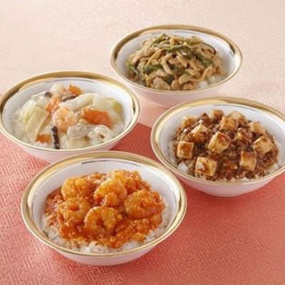 【4種】四川飯店 本格丼ぶり食べ比べ