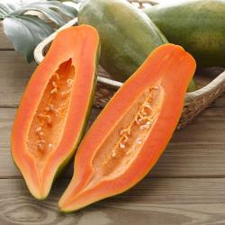 富春山農場 產銷履歷台農2號木瓜6台斤( 4-6顆)