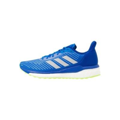 アディダス シューズ メンズ ランニング SOLAR DRIVE 19 - Neutral running shoes - glow blue/grey two/signal green