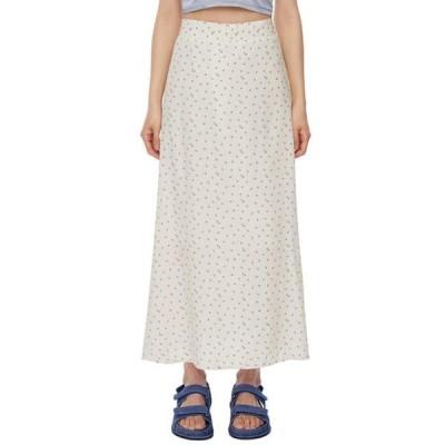 somedayif レディース スカート berry floral long skirt