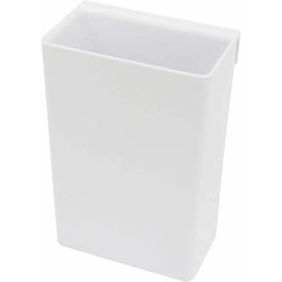 浴室用ラック 磁着SQ OPワイドポケット 深型 マグネット 浴室収納 バスポケット ホワイト 約6.7×4×10cm