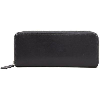 [スノビスト/SNOBBIST] 長財布 一目瞭然ウォレットSLIMBIZ 日本製 レザー 使用 財布 メンズ (ブラック)