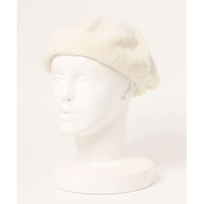 Daily russet / 【Casselini / キャセリーニ】刈毛ベレー WOMEN 帽子 > ハンチング/ベレー帽