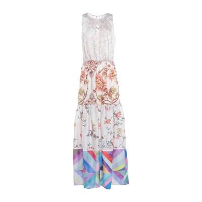 レリッシュ RELISH ロングワンピース&ドレス ベージュ XS ポリエステル 100% ロングワンピース&ドレス