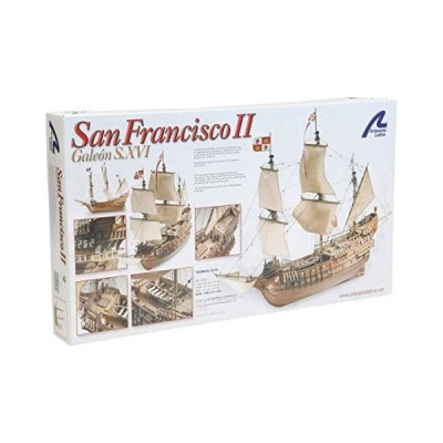 Artesania Latina Wooden Boat Kit. San Francisco II Ref: 22452 by Artesania