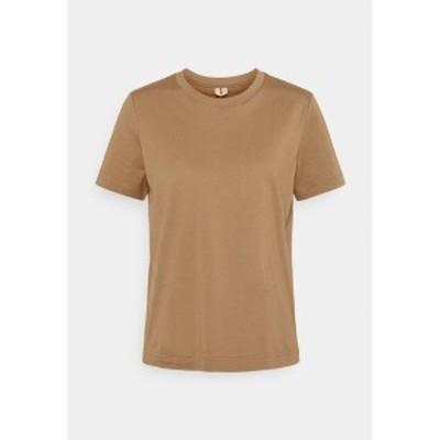 アーケット レディース Tシャツ トップス Basic T-shirt - beige beige