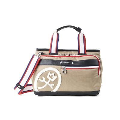 【カバンのセレクション】 カステルバジャック ドビー トートバッグ ハンドバッグ メンズ レディース ミニ 小さめ CASTELBAJAC 63551 ユニセックス ベージュ フリー Bag&Luggage SELECTION