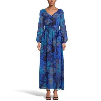 アイエヌシーインターナショナルコンセプト ワンピース トップス レディース INC Paisley-Print Maxi Dress,  Midnight Multi