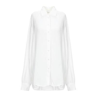MAJE シャツ ホワイト 3 レーヨン 100% / ポリエステル シャツ