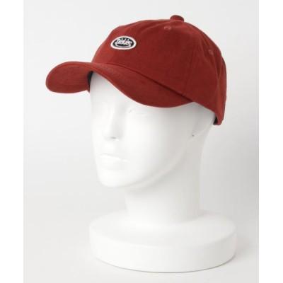 LB/S / 【DICKIES/ディッキーズ】スマイルギブポリスェードCAP ローキャップ ワッペン ブランドロゴ ユニセックス WOMEN 帽子 > キャップ