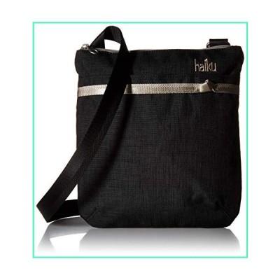 HAIKU Women's Small Revel Eco-Friendly RFID Blocking Crossbody Travel Bag, Black Morel並行輸入品