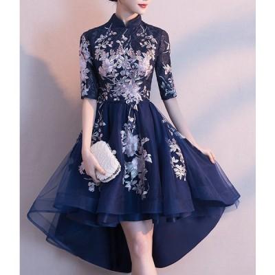 チャイナドレス ワンピース レディース コスプレ チャイナ服 パーティ 刺繍 SALE 韓国