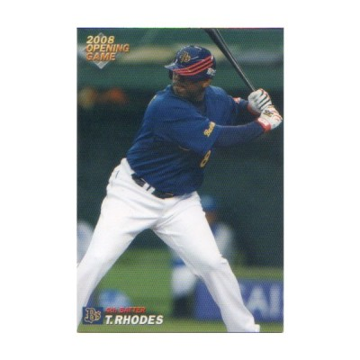 【送料無料】カルビー2008 プロ野球チップス 開幕投手・開幕四番カード No.OP-24 ローズ