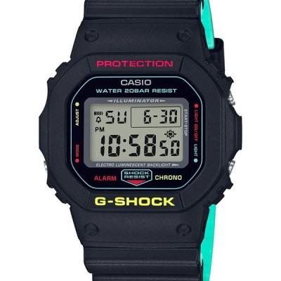 DW-5600CMB-1JF G-SHOCK Gショック ジーショック カシオ CASIO ブリージー ラスタカラー ブラック 黒 メンズ 腕時計 国内正規品 送料無料