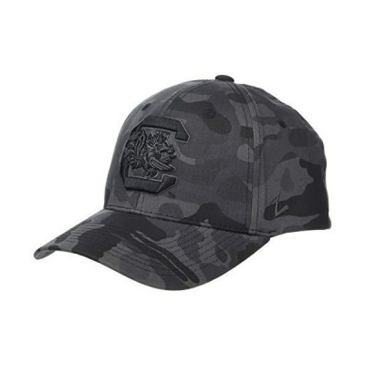 NCAA South Carolina Fighting Gamecocks Mens Waco Adjustable Hat, Black Camo