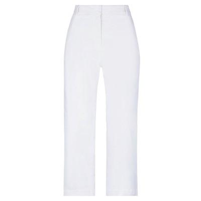 ジ・エディター THE EDITOR パンツ ホワイト 42 コットン 97% / ポリウレタン 3% パンツ