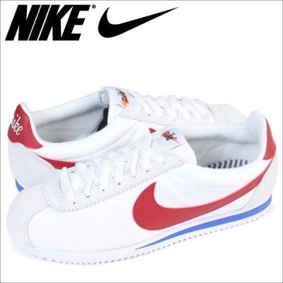 NIKE ナイキ コルテッツ クラシック ナイロン スニーカー CLASSIC CORTEZ NYLON PREMIUM 876873-101 メンズ 靴 ホワイト