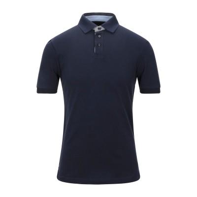 ハケット HACKETT ポロシャツ ダークブルー XS コットン 92% / ポリウレタン 8% ポロシャツ