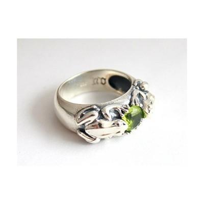 蛙 カエル リング 指輪 シルバーリング (9)