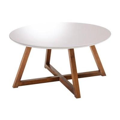PRT-800WT 80cm幅 リビングテーブル センターテーブル ローテーブル ソファーテーブル モダン MKマエダ ピュルテ