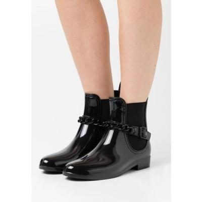 グラマラス レディース 靴 シューズ Wellies - black