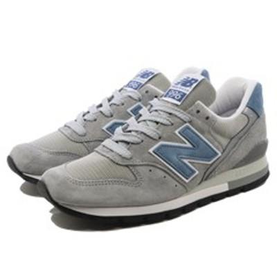 NEW BALANCE ニューバランス M996ABC [カラー:グレー×ライトブルー] [サイズ:28.5cm (US10.5) Dワイズ] 送料無料 靴