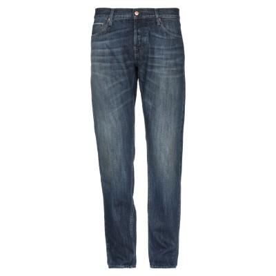 ケアレーベル CARE LABEL ジーンズ ブルー 35 コットン 72% / 指定外繊維(ヘンプ) 28% ジーンズ
