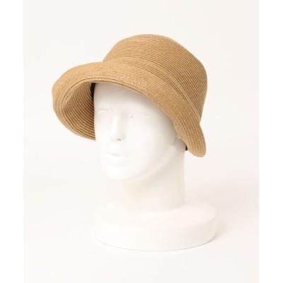 U.Q / バイザー風つばブレードキャス WOMEN 帽子 > キャスケット