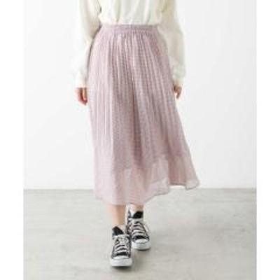 WEGO(ウィゴー)プリーツロングスカート