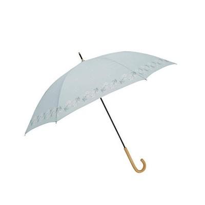 小川(Ogawa) 長傘 雨晴兼用雨傘 手開き 58cm 6本骨 teno?/Natural 可憐なあのコ UV加工 鳥型飾りボタン付き 9