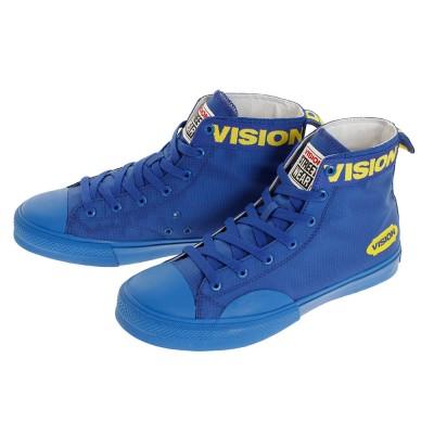 VISIONシューズスニーカー キャンバス ハイ SP VSW-0152 BLU カジュアルブルー