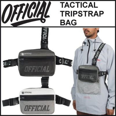 【スポイチ】 OFFICIAL オフィシャル バッグ TACTICAL TRIPSTRAP BAG チェスト バッグ 前掛け ショルダーバッグ ボディバッグ アウトドア