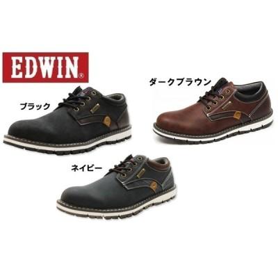 EDWIN エドウィン EDW7920 カジュアルシューズ ローカットスニーカー  防水設計 メンズ