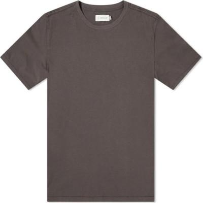 サッタ Satta メンズ Tシャツ トップス organic tee Washed Black