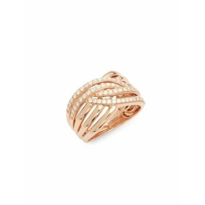 エフィー レディース ジュエリー Diamond and 14K Rose Gold Midi Ring