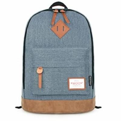 15.6 inch Laptop Backpack, Backpack Waterproof Lightweight Computer Notebook Bag Canvas Daypack for Men Women School Business Tr