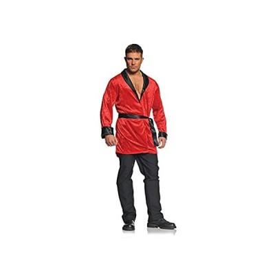 Underwraps Smoking Jacket Costume - S Red